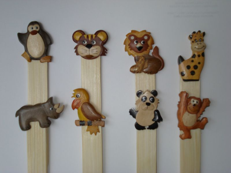Zoo Bookmarks
