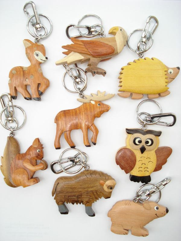 Forest Key Chains