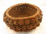 Large Pine Cone Basket