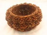Small Pine Cone Basket